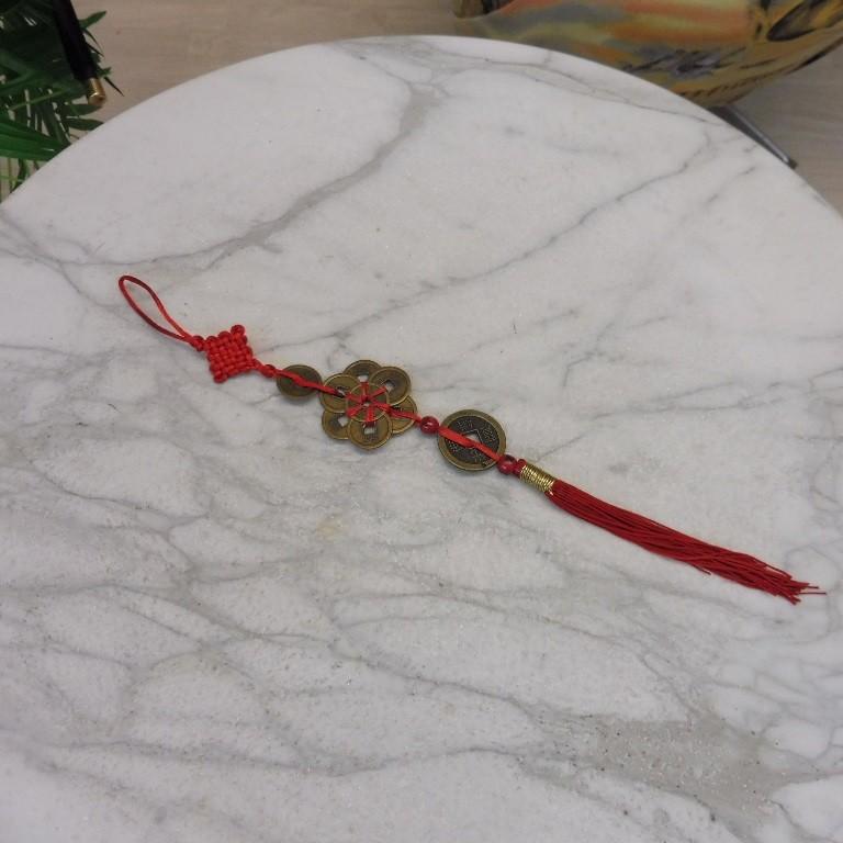 Feng Shui Glücksmünzen Knoten Band 1 7 1 Münzen Willkommen Im