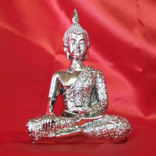 buddha silber antik verschiedene posen a willkommen im grossen edelsteinhaus. Black Bedroom Furniture Sets. Home Design Ideas
